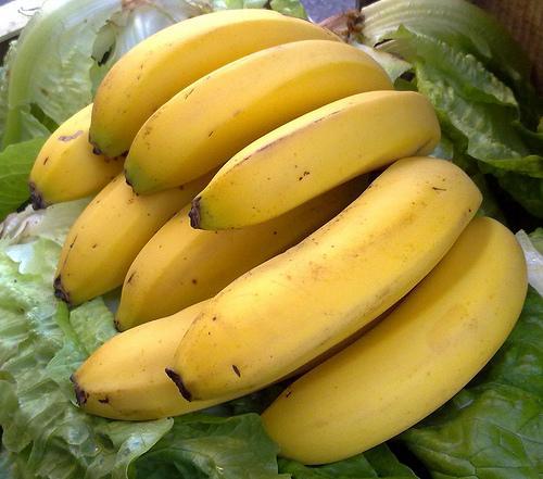 Plátano, fuente natural de potasio