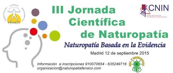 III Jornada Naturopatia 2015