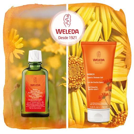 Productos con árnica de Weleda