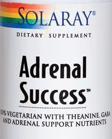 Adrenal Success de Solaray