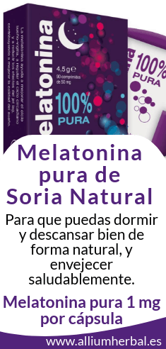 Melatonina Pura Soria Natural