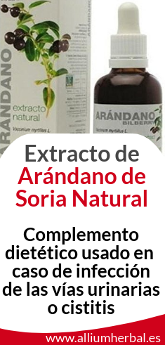 Extracto de Arandano 50 ml de Soria Natural