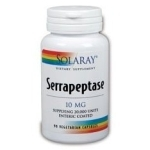 Serrapeptasa 90 capsulas 10 mg de Solaray