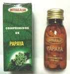 Papaya 60 comprimidos 500 mg de Integralia