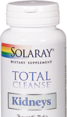 Total cleanse™ kidney (riñones) 60 capsulas de Solaray