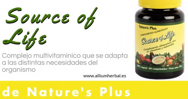 Source of life. Multivitamínico y mineral para adultos
