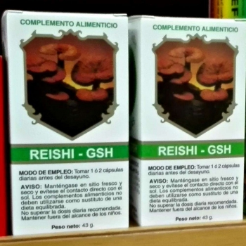 Hongo Reishi GSH de Golden & Green