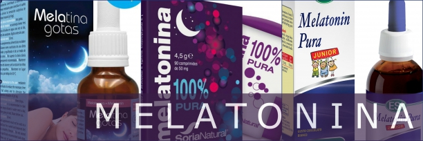 Productos con melatonina